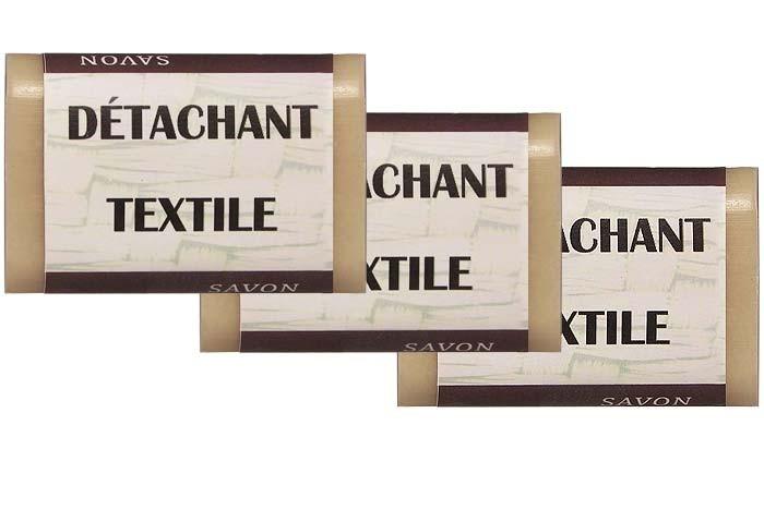 Détachant textile écologique x 3